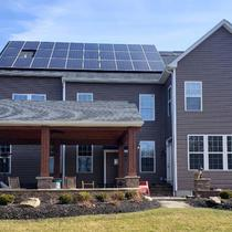Residential 13.60kW System installed in Avon, Ohio.