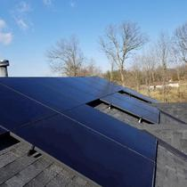 Residential 7.92 kW System installed in Loveland, Ohio.