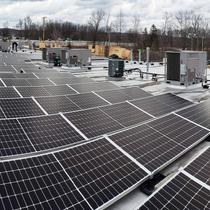 YellowLite Commercial 65.52 kW - 168 solar panels installation in Solon, Ohio.