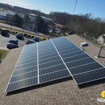 A beautiful 37.60 kW system installed at Avon, Ohio.