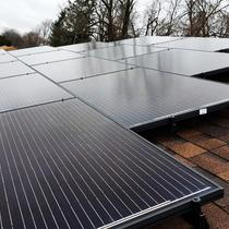 Residential 8 kW System installed in Pittsburgh, Pennsylvania.