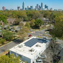 Commercial Solar in Downtown Charlotte, NC