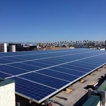 30 kW Commercial System in downtown Los Angeles, CA
