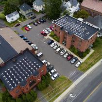Downtown Northampton non profit solar