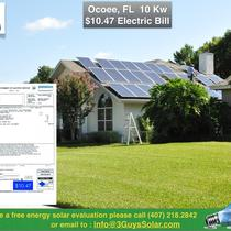 $10.47 Electric Bill in Ocoee