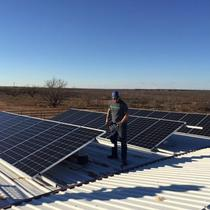West Texas Cotton Farmers Solar Up!