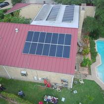 Drone Shot of a 12KW