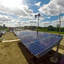 Solar Carport in Detroit