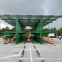 Solar Carport in Boca Raton