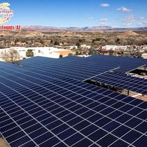 Roof Mount Installation in Yavapai County | Commercial