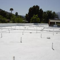 Foam roof