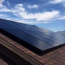 SunPower all black panels