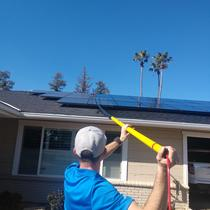 Working hard for your solar panels so they can continue to work hard for YOU!