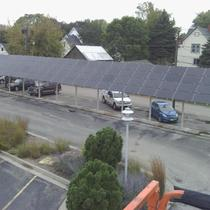 Foresight Bank 26kW Array and Parking Canopy