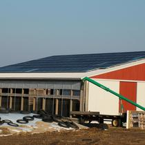 Agricultural 39.84 kW Array on an outbuilding
