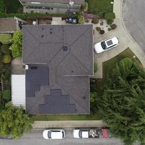 Aerial View of a 6.72kw LG System