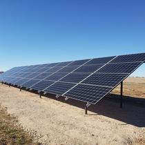 16.8kw ground array