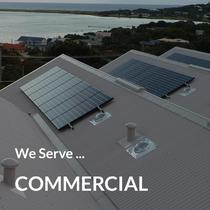 We serve commercial solar tailored to your business.