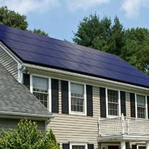 (56) LG Mono X 300w Black on Black 16.8kw producing 22,680 kwh of solar energy per year