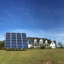(2) 24 series Dual Axis Solar Trackers , 14.4 kw producing 29,000+ kilowatt hours of solar energy per year
