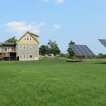 (2) 24 Series Dual Axis Solar Trackers, 15.1kw producing 31,000+ kilowatt hours of solar energy per year