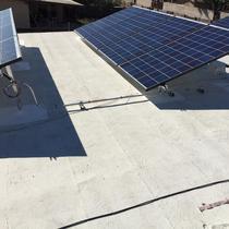 Recent Flat roof