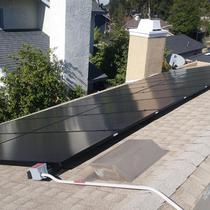 Installation in Laverne, CA with Battery Backup