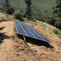 Ground Rack in progress in Pala, CA