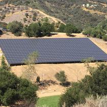 Jamie Foxx's 221 Kw Ground Mount with Panasonic Modules, SolarEdge Optimizers and Inverters