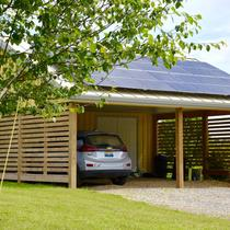 Carport with Charging Station for EV