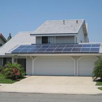 Solar Concrete Tile