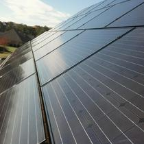 6.12 kW solar array shines bright