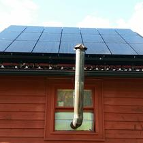 10.26 kW solar array installed on a barn