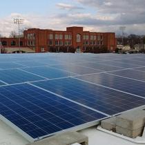 25.42 kilowatt solar array in Maplewood, MO