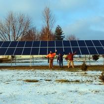 13.64 kilowatt solar array in Ozark, MO