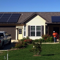 9.76 kW Array in Monmouth, IL