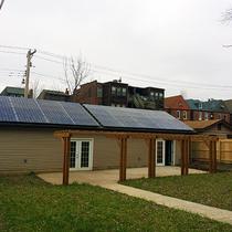 11.34 kilowatt solar array in University City, MO
