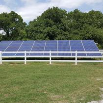Ground mounted solar in Bowie, TX