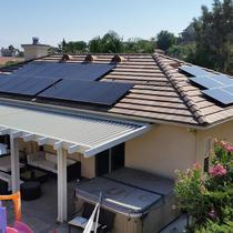 Solar Power Canyon Lake Riverside County CA