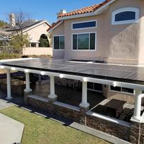 Solar Patio Cover Yorba Linda Orange County CA