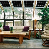 Solar sun rooms