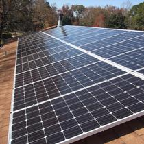 10kw Array with American-made Solarworld 285 watt panels