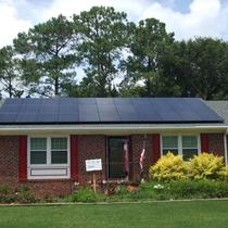 9.2kw Array with American-made Solarworld Black panels