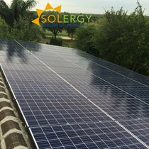 Solergy Residential Roof Mount Installation