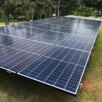 9.9 kW Ground Mount system installed in Fort Worth,Texas