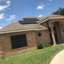 Solergy installation in Mission TX