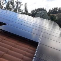 We like our panels sunny side-up. Cooper City, FL