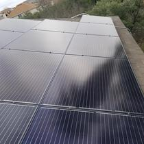 8.06kW system covering 45% of the customers electricity usage