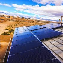 Desert views surround this SunPreme installation.