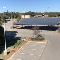 Commercial Solar Carport Installation